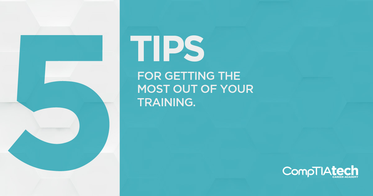 5 tips for getting the most out of your training