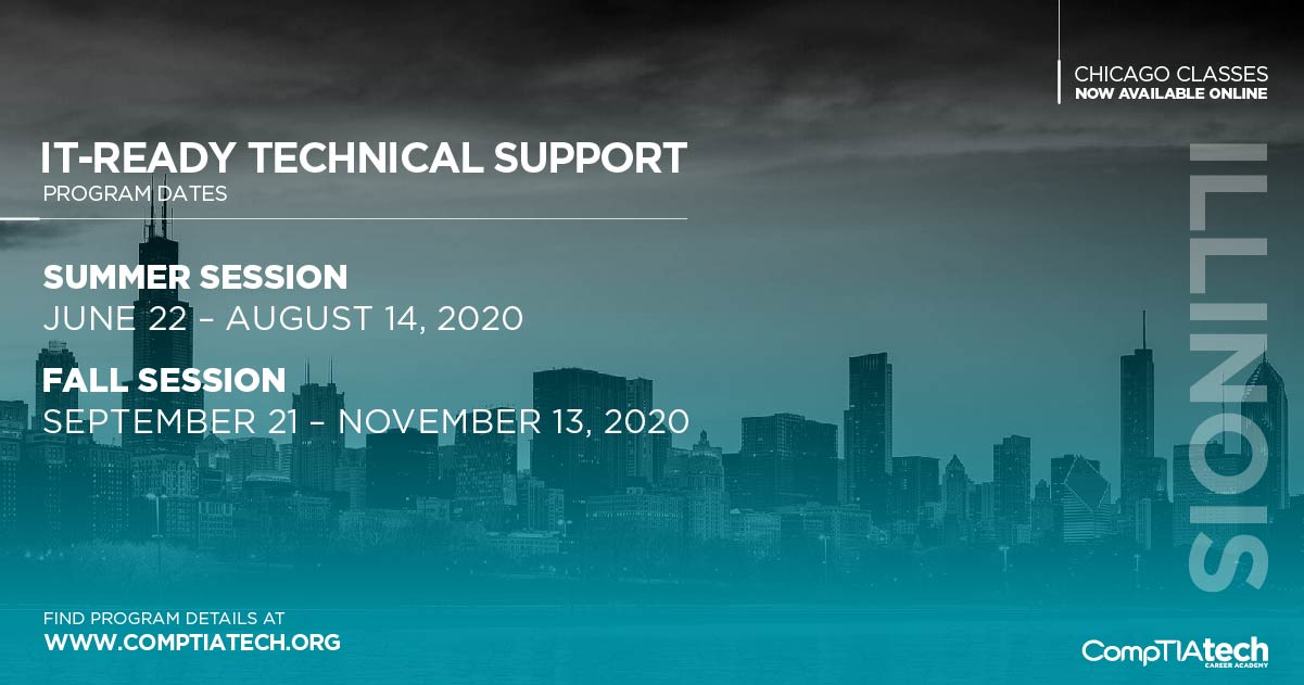 Chicago 2020 Class Schedule