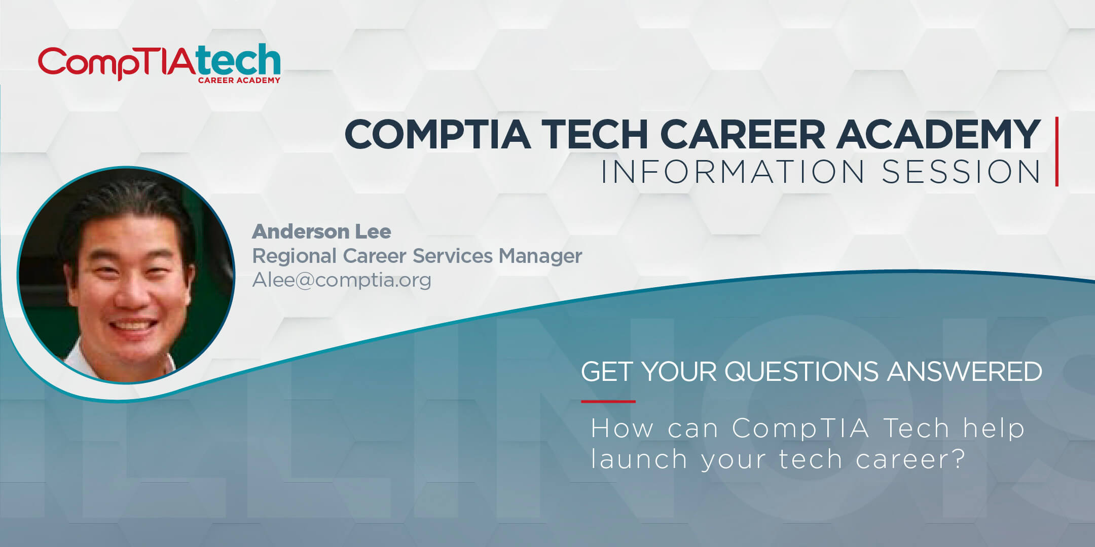 CompTIA Tech Career Academy Information Session
