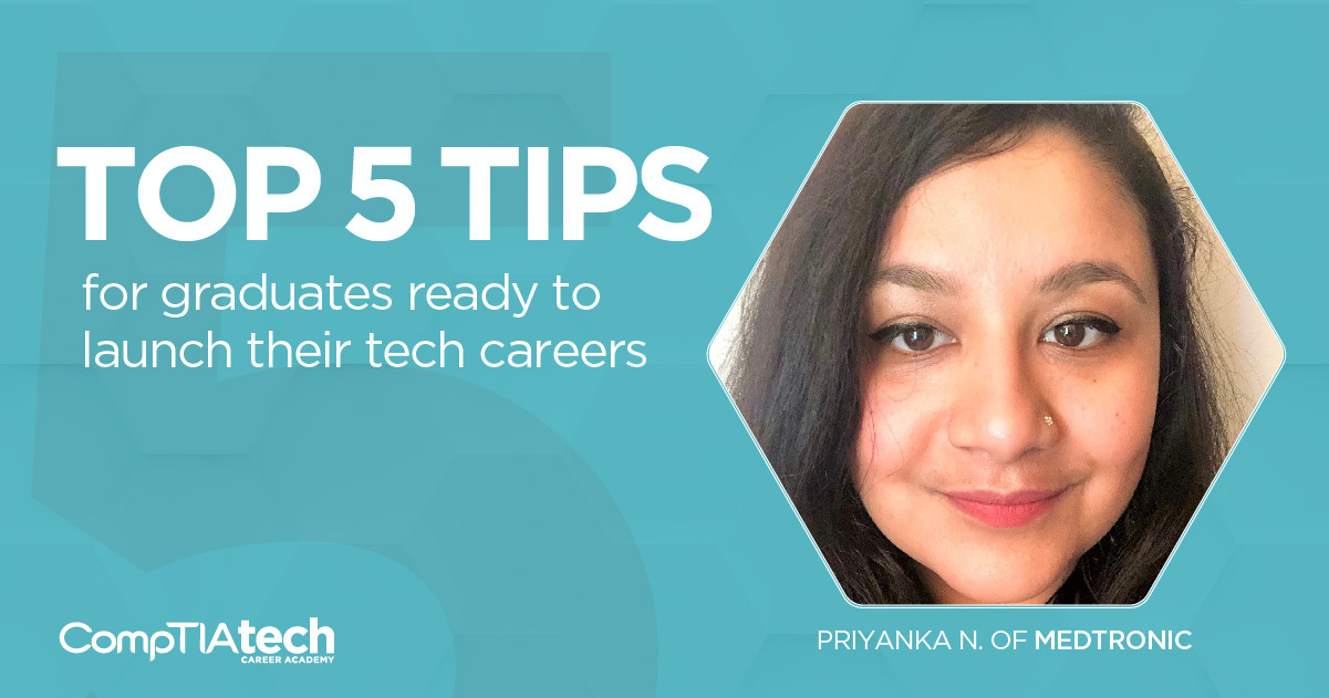 Top 5 Tips for Graduates Ready to Launch their Tech Careers